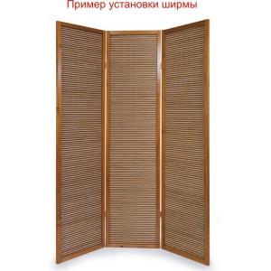 Ширма из бамбуковой соломки, 3 створки