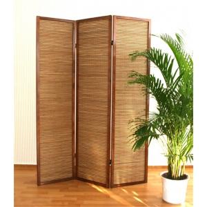 НОВИНКА! Ширма из бамбуковой соломки, 3 створки