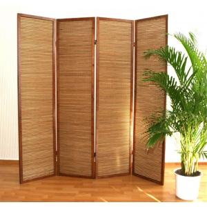 НОВИНКА! Ширма из бамбуковой соломки, 4 створки